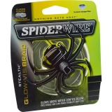 SpiderWire Stealth Glow-Vis 0,38mm, 137m, zelená