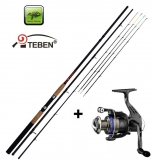 Giants Fishing CLX Feeder TR 12ft Medium + naviják Teben LV300 zdarma!