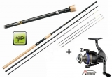Giants Fishing Fluent Feeder XT 11ft + naviják Teben LV300 zdarma!