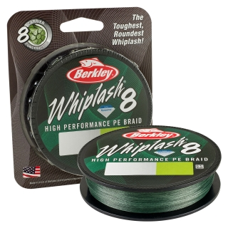Berkley Whiplash 8 Green 0,16mm, 300m