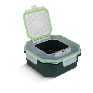 Greys Klip-Lok Flip Top Bait Box 1,3l
