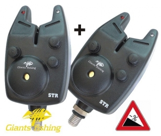 Giants Fishing Bite Alarm STR ( 12V Baterie) AKCE 1+1!