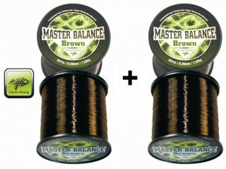 Giants Fishing Carp Master Balance Brown 0,28mm, 812m, AKCE 1+1 ZDARMA!