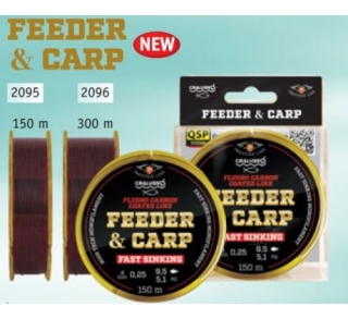 Cralusso Feeder & Carp Line 300 m, 0,18mm